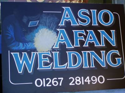 Hermon Signs for Asio Afan Welding