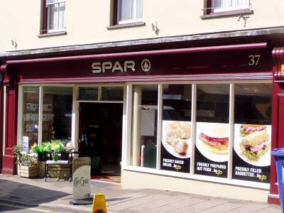 Narberth Signs for Spar Food Store