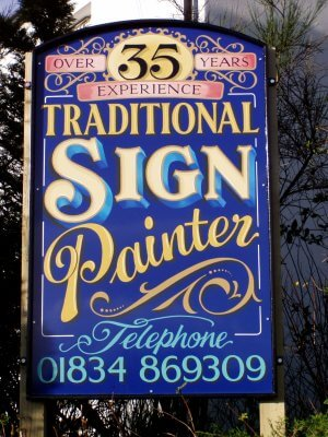 Narberth sign boards Signs for Jenkins Signs