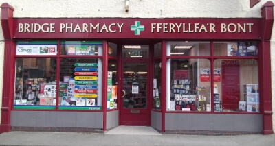 Newcastle Emlyn Signs for Bridge Pharmacy