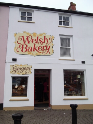 Haverfordwest Signs for Welsh Bakery