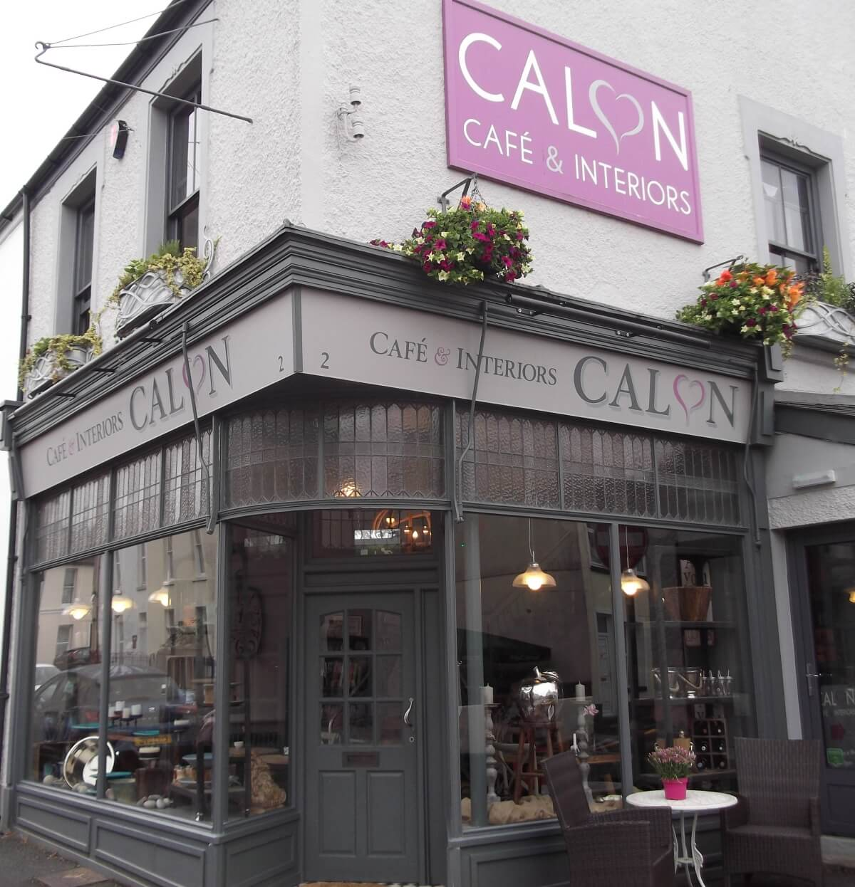Carmarthen Signs for Calon Cafe