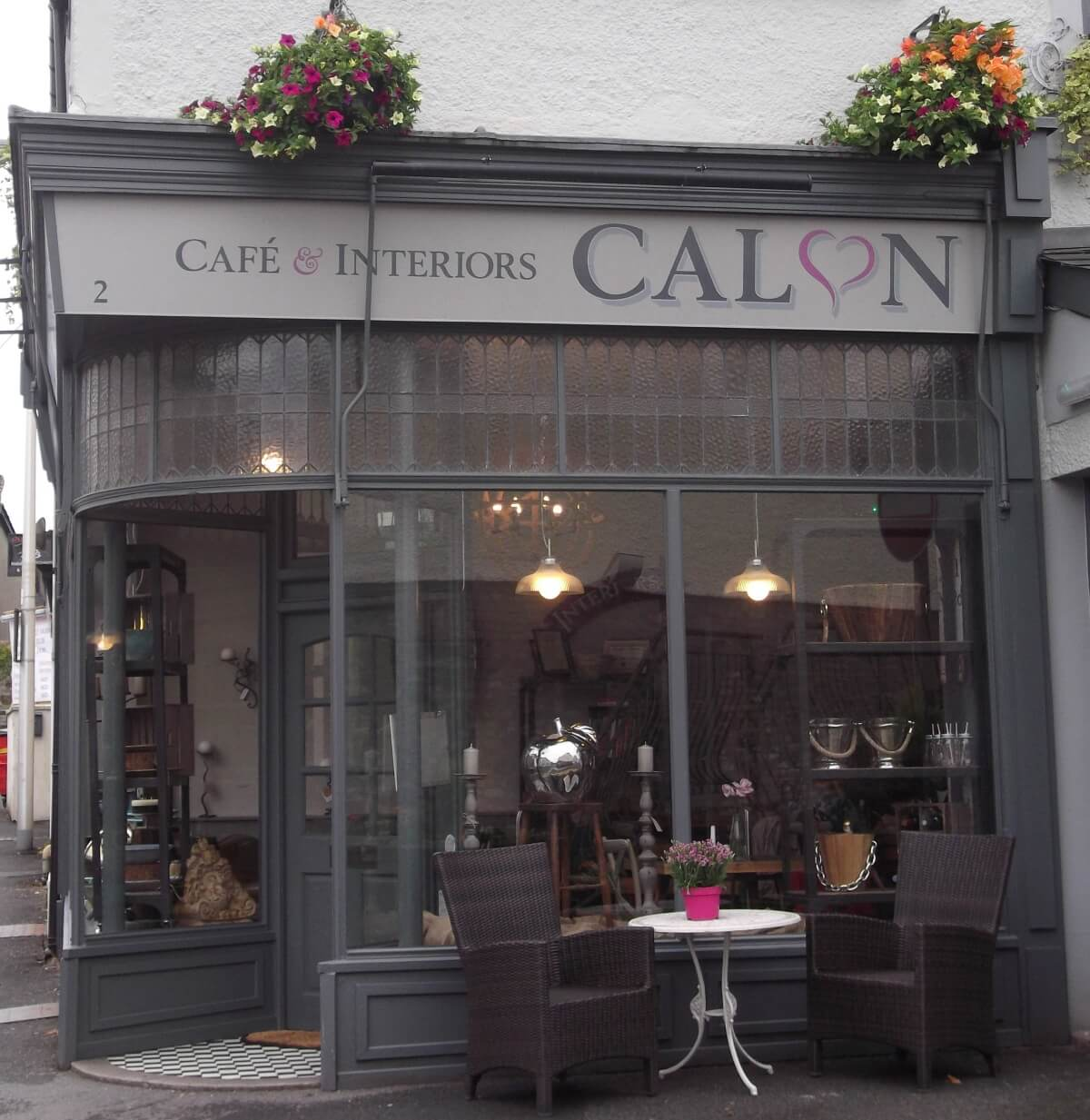 Carmarthen Signs for Calon Cafe - Image 1