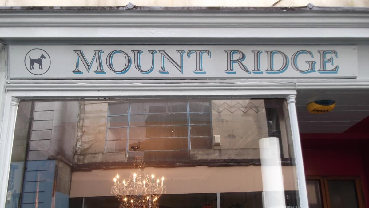 Carmarthen Signs for Mount Ridge