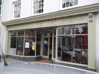 Polly's Bistro - Cardigan