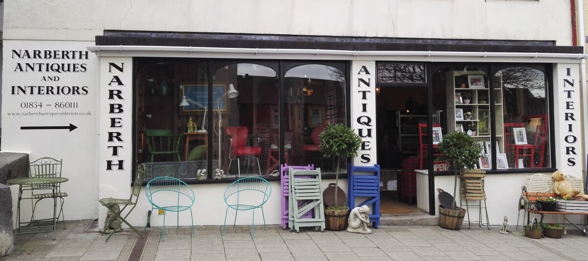 Narberth Signs for Narberth Antiques
