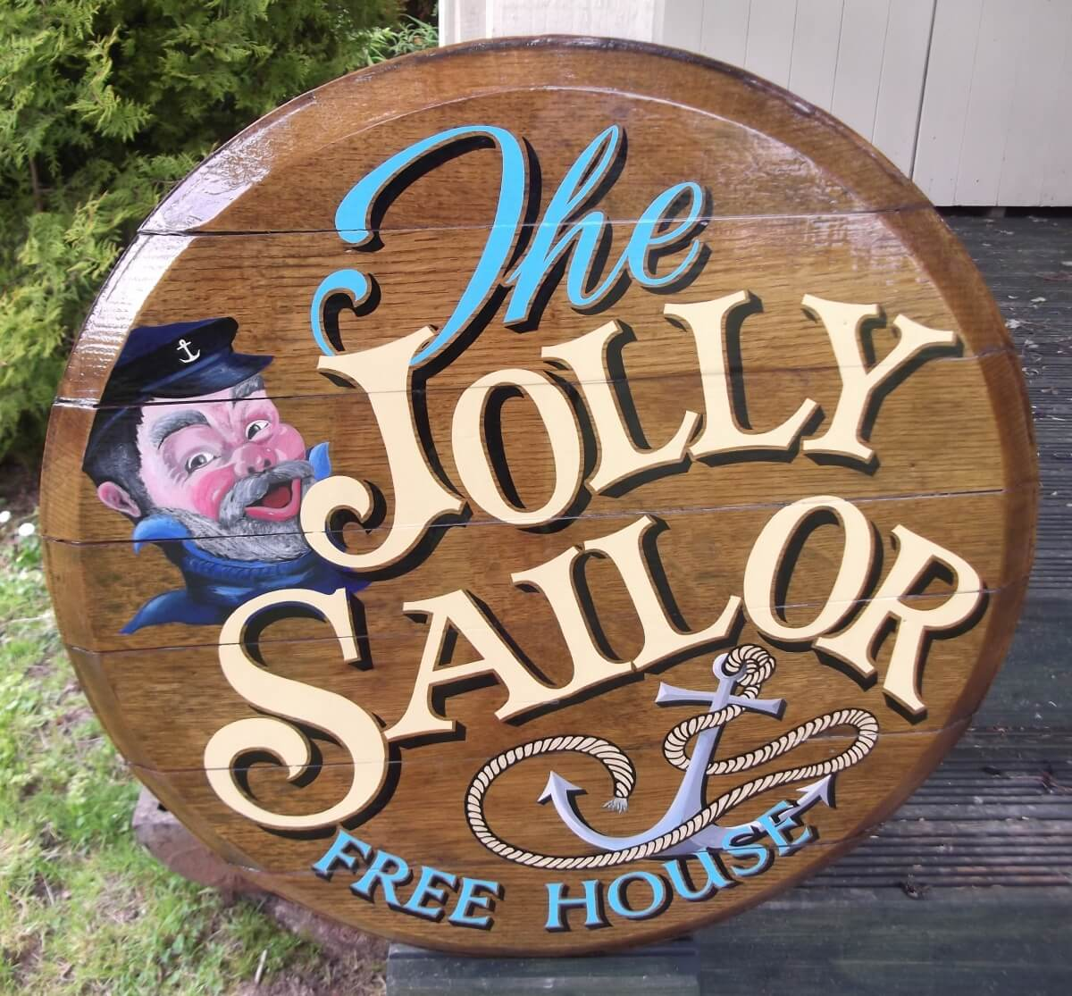 Signs for The Jolly Sailor