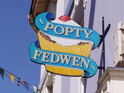 Cardigan Signs for Popty Fedwen