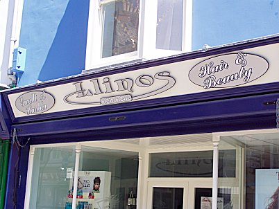 Cardigan Signs for Llinos Hair & Beauty Salon
